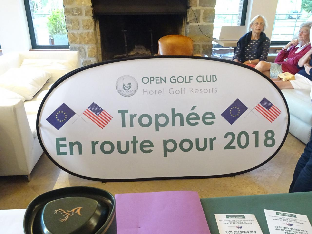 Coupe OPEN GOLF CLUB 09